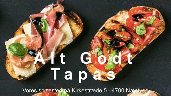 Naestved, Denmark: Skønne bruschetta, vi laver mange varianter