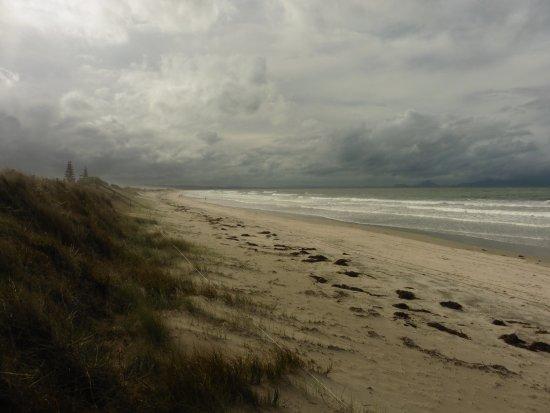 Waipu, New Zealand: the beach