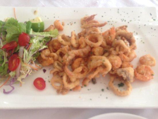 Casa Mia Italian Restaurant: fritto misto all'italiana