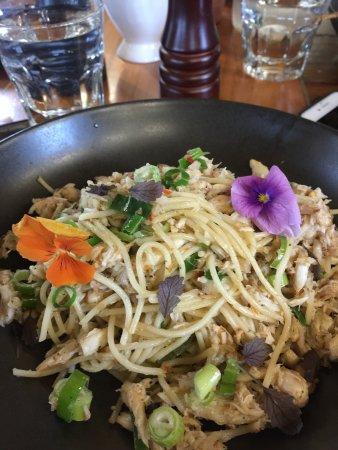 Burrawang, Αυστραλία: Crab, chilli spaghetti
