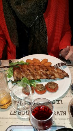 Saint-Martin-d'Heres, France: Ribs.