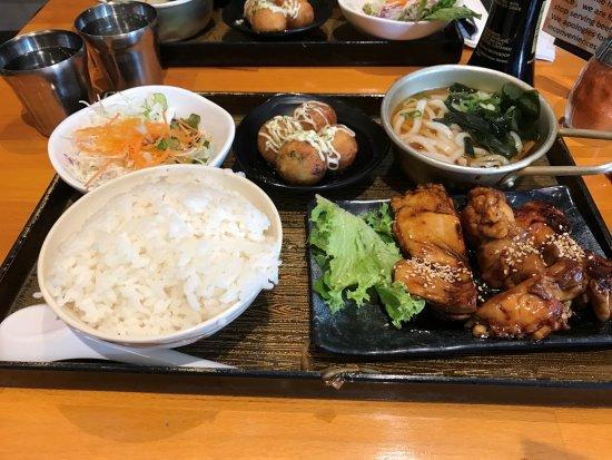 teriyaki chicken combined menu  picture of kura 3 sydney