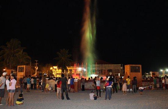 Paseo del Mar: dancing fountain