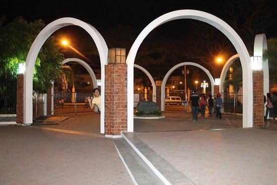 Paseo del Mar: the gate