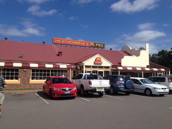 Sutton Forest, Αυστραλία: The pie shop