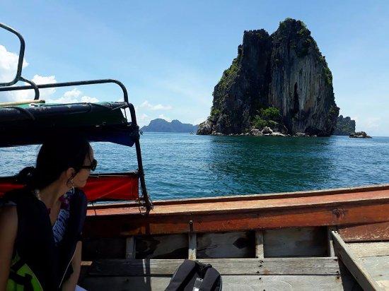Ko Ngai, Thailand: On the boat to island.