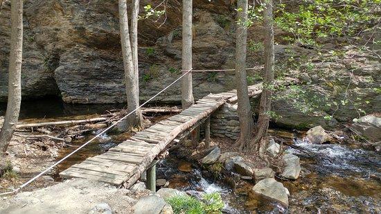 Senda de la Hidroelectrica: Puente de madera muy cerca del final