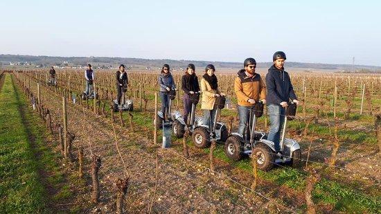 Saint Nicolas de Bourgueil, France: Balades en gyropodes dans les vignes
