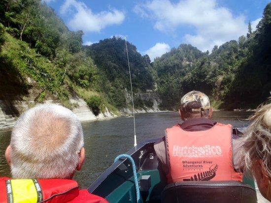 Manawatu-Wanganui Region, Yeni Zelanda: Jetboat action