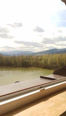 Jesenik, Czech Republic: Výhled z pokoje