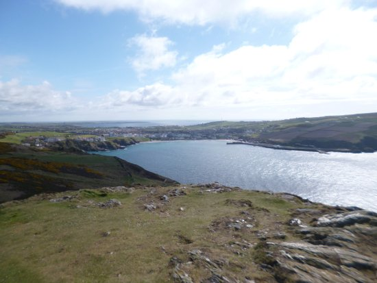 Port Erin from the top of the tower