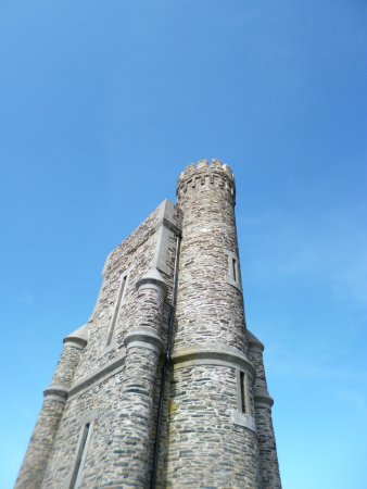 Port Erin, UK: Looking up from the bottom of the tower!