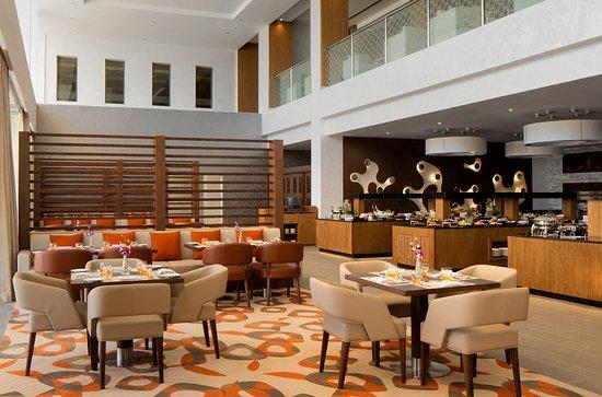 Sohar, Oman: Al Zafaran Restaurant - Inside