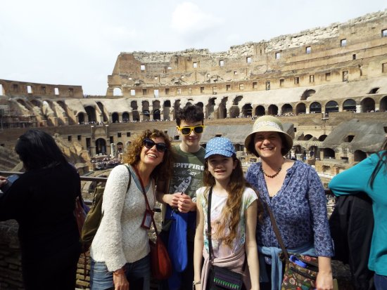 Rome Tours With Kids - Private Tours: in the Coliseum