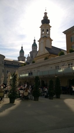 Mozartplatz : Packed with architecture and views