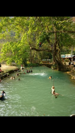 Tham Phu Kham Cave and Blue Lagoon: Screenshot_20170417-144042_large.jpg