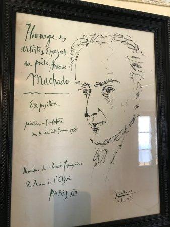 House Museum of Antonio Machado: homenaje