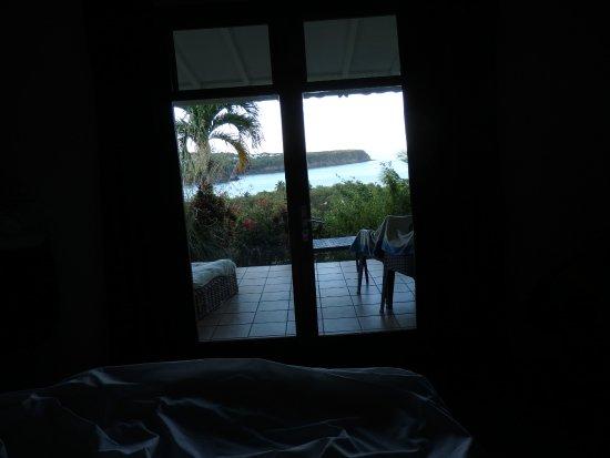 Le Rayon Vert: vue mer de notre lit