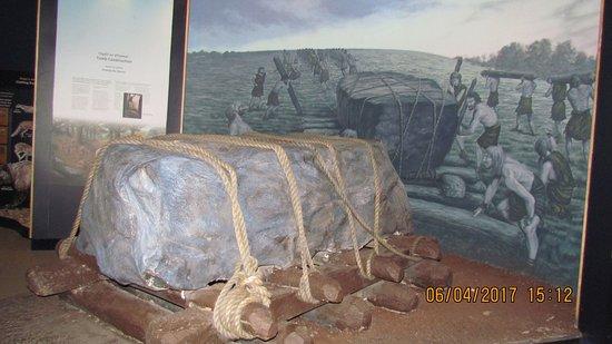 Donore, Ireland: Newgrange, Ausstellung