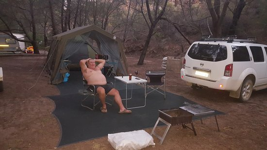 Clanwilliam, Sør-Afrika: Just relaxing.