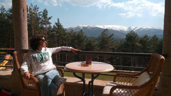 Parador de Gredos: vista desde terrazas comunes