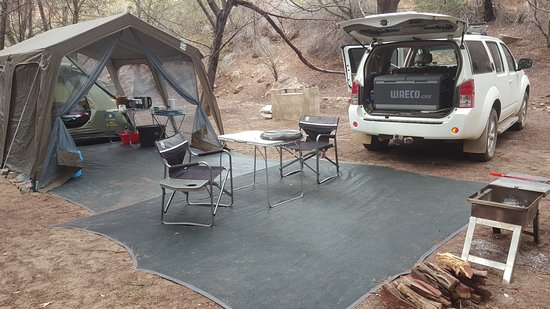 Clanwilliam, Sør-Afrika: Trues camping bliss.