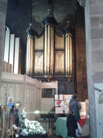 Organ pipes - Rotherham Minster.