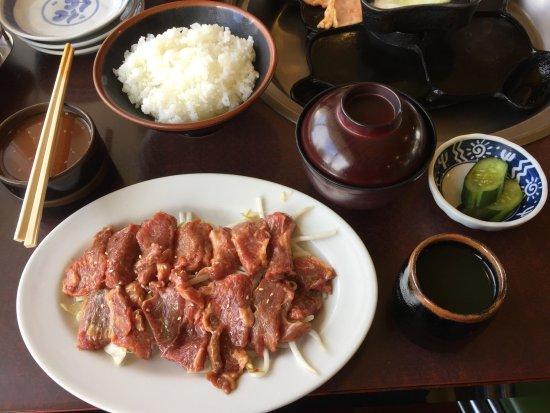 Shimosuwa-machi, Japan: ジンギスカンランチ(平日半額)