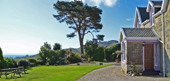 Whiting Bay, UK: Stunning panoramic sea views from the guest House
