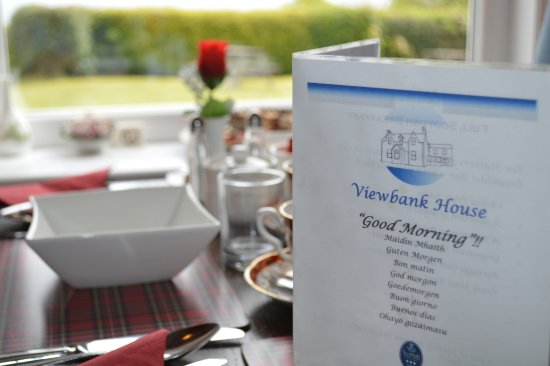 Whiting Bay, UK: Enjoy a hearty breakfast to set you up for the day ahead.