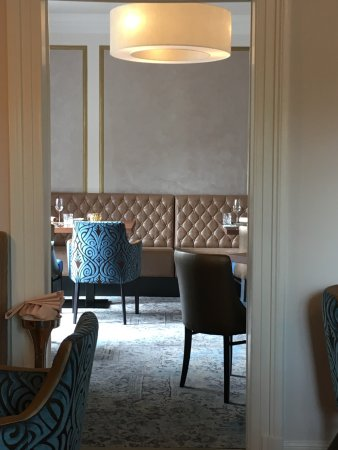 Mulheim an der Mosel, Alemania: Separate dining room