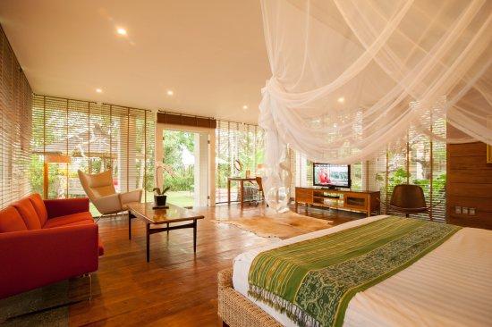 Chapung SeBali Resort and Spa: Bedroom in the Luxury 2 bedroom Residence