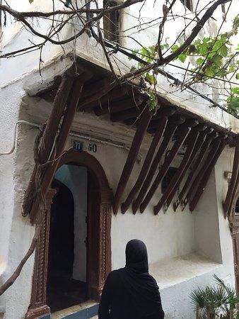 Algiers, Algeriet: Типичный дом Касбы