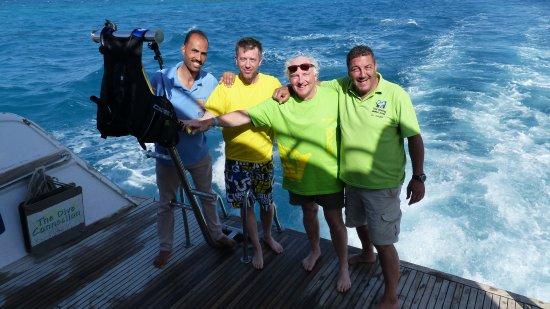 TGI Diving El Gouna: TGI divers