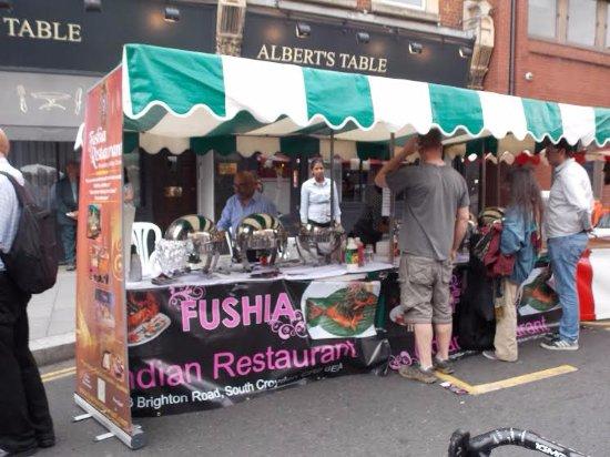 Fushia: Food Festival @ Croydon