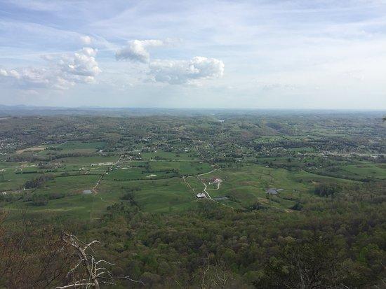Duff, TN: View from McCloud Mountain Restaurant