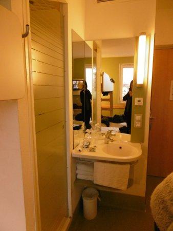 Ibis Budget Verdun: Il n'y a pas de salle de bains, aucune intimité possible !
