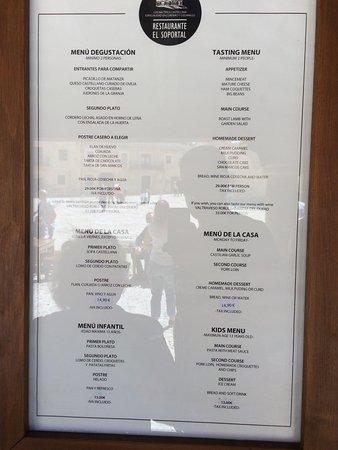 Foto de el soportal pedraza el soportal tripadvisor - Restaurante el jardin pedraza ...