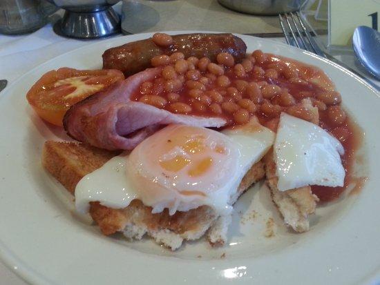 Crown Hotel: Breakfast