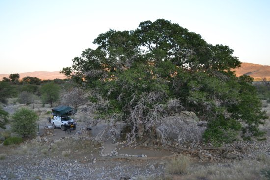 Maltahohe, Namibie : Campsite BulBul
