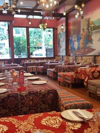 ahmets turkish restaurant inside decor