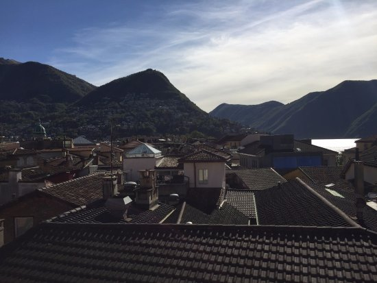 Lugano Dante Center Swiss Quality Hotel: Great views from the room