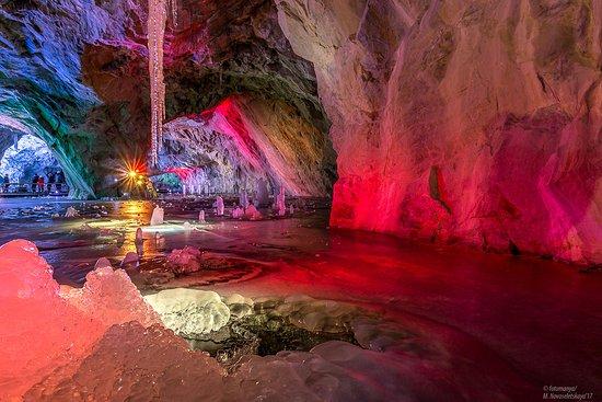 Ruskeala, روسيا: Подземная Рускеала