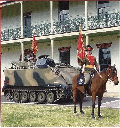 Parramatta, Αυστραλία: From sword & lance to armoured fighting vehicles, over 130 years of military history
