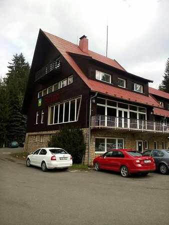 Horni Becva, Tsjechië: Hlavní budova Hotel Duo Retro