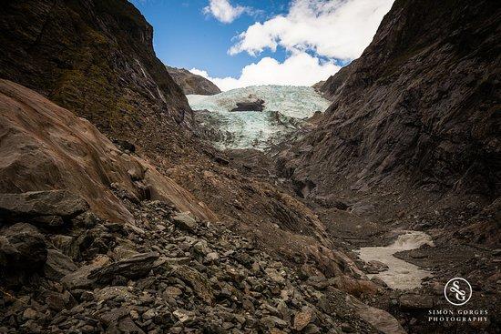 ฟรานซ์โจเซฟ, นิวซีแลนด์: Franz Josef Glacier - At the bottom of the ever so shrinking glacier.