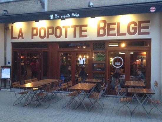 Louvain-la-Neuve, Belgique : Devanture