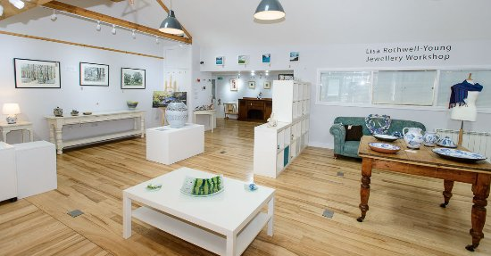 Langholm, UK: Main Gallery Space