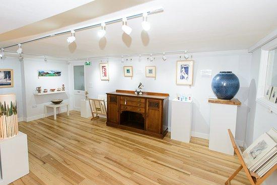 Langholm, UK: Rear gallery space.