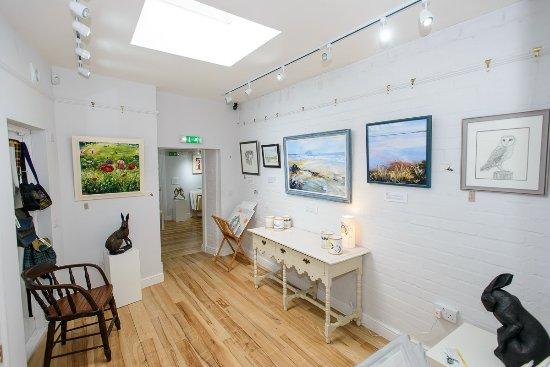 Langholm, UK: Side gallery space